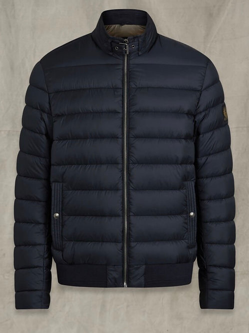 Circuit Quilted Jacket In Dark Ink