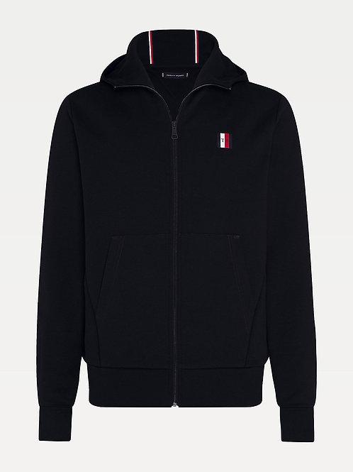 Modern Essentials Zip Hoodie In Black