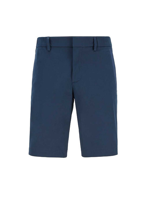 Slim-fit shorts in navy