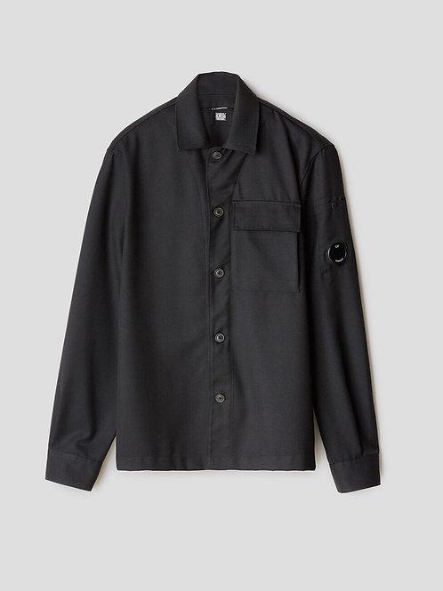 Flannel Lens Shirt in Black