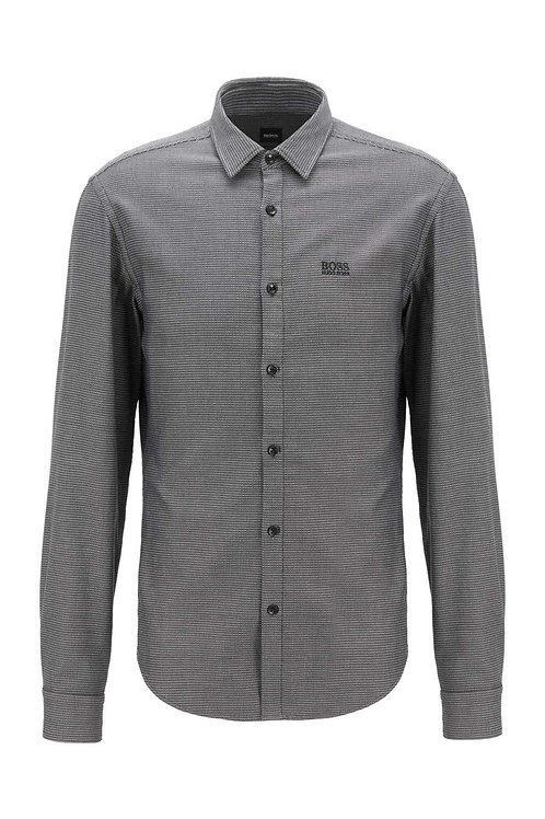 Brod_S Shirt in Black