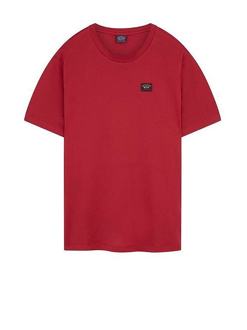 Badge T-Shirt in Red