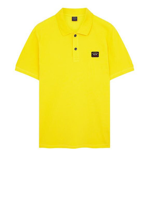 Chest Logo Polo In Yellow