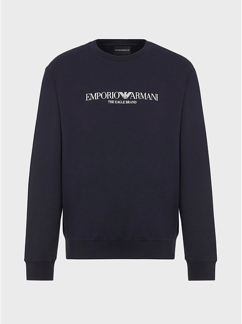 The Eagle Brand Sweat in Navy