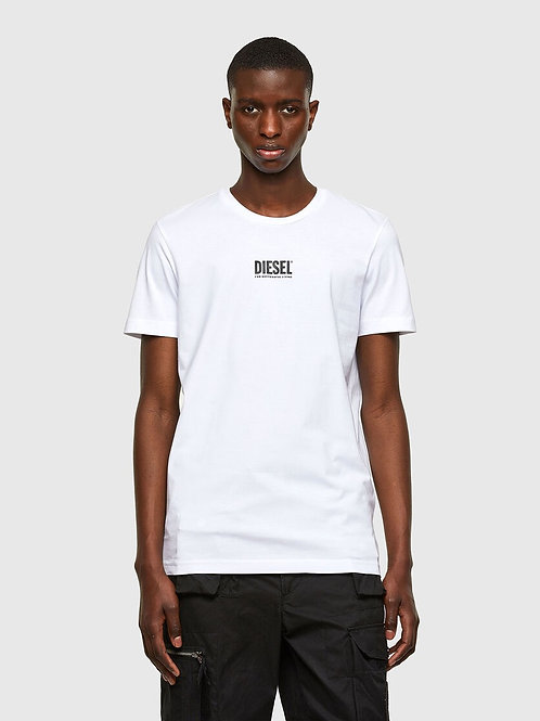 Small Logo T in White