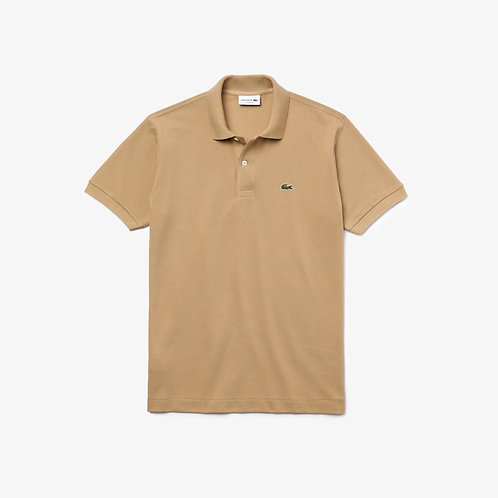 Lacoste Classic Fit Polo Shirt in Beige