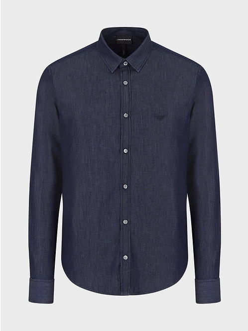 Light Denim Shirt in Blue