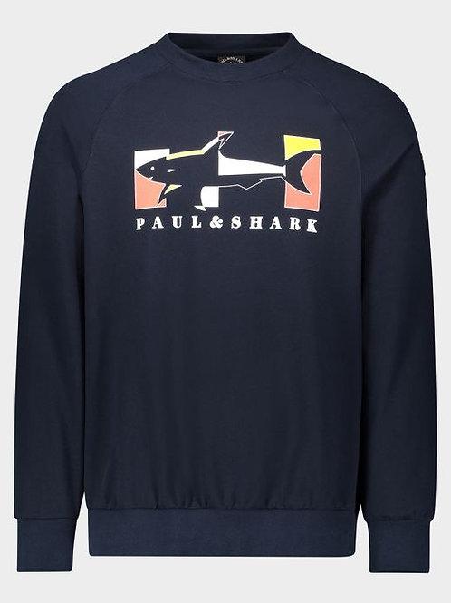 Box shark logo in Navy