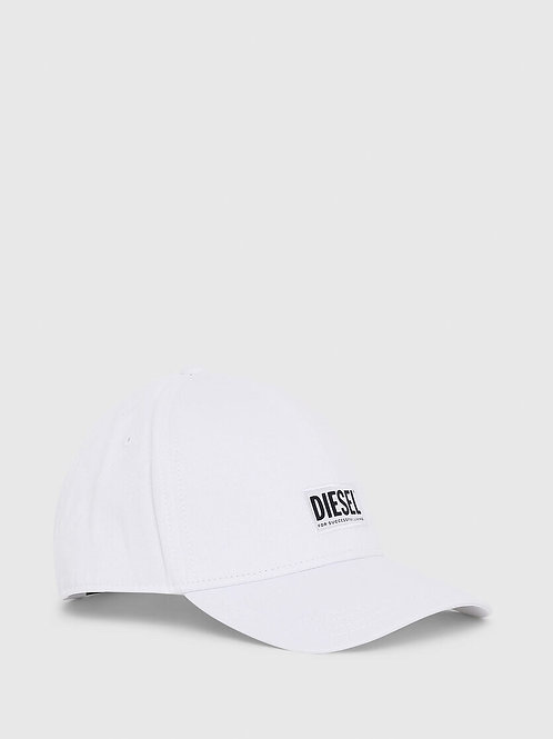 Patch Basebal Cap in White