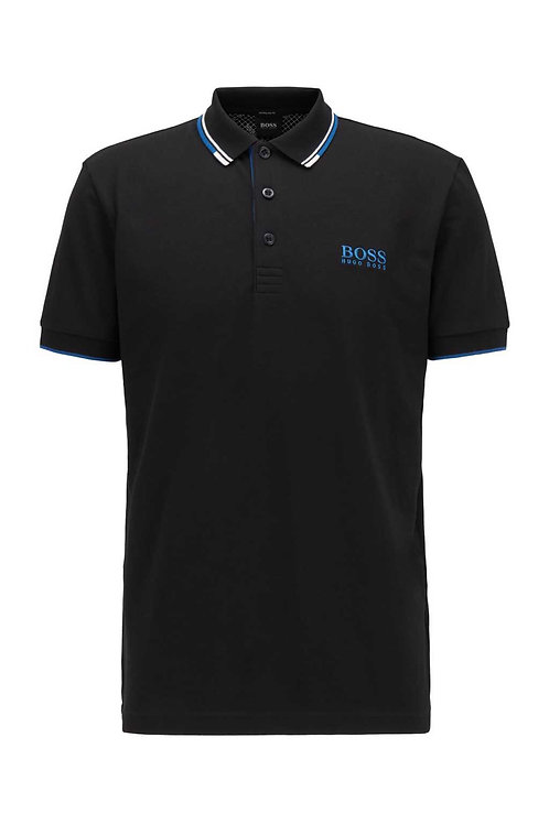 Paddy Pro Polo in Black