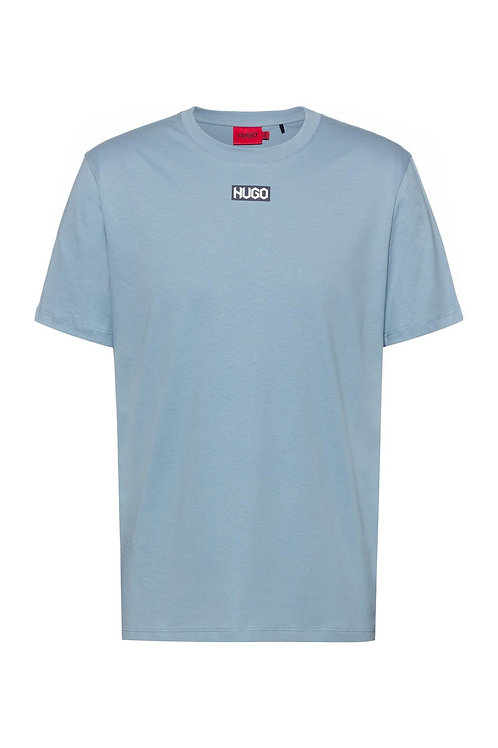 Durned Centre Logo T-Shirt in Blue
