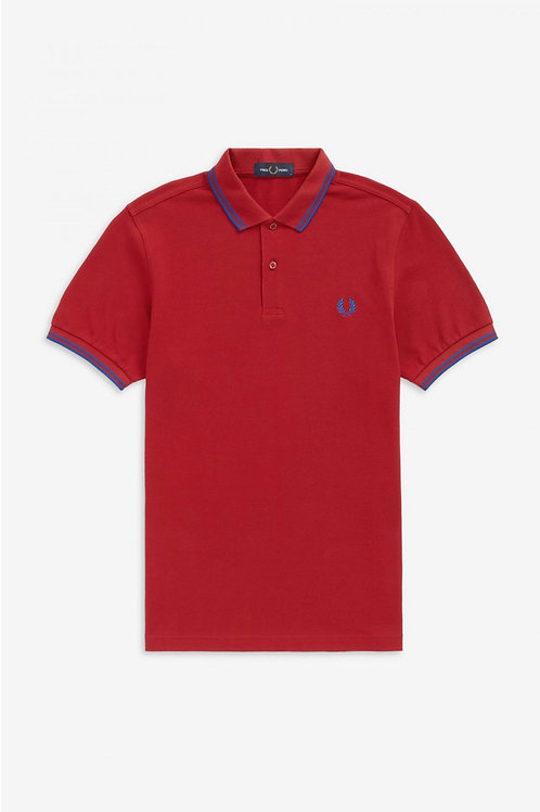 Twin Tipped Polo Red/Blue