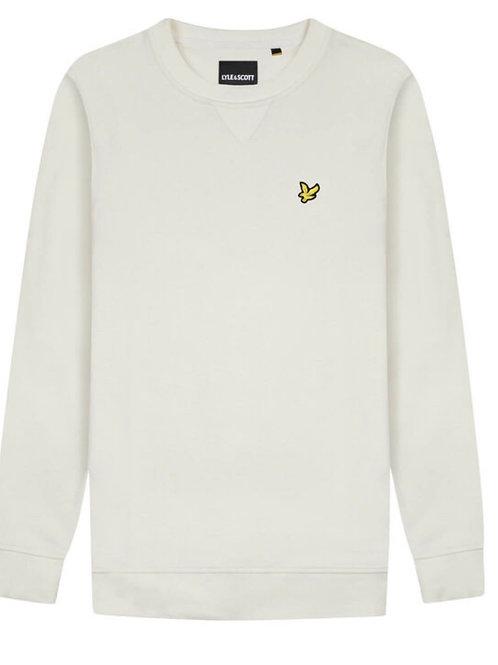 Lyle & Scott Crew Sweatshirt in Vanilla