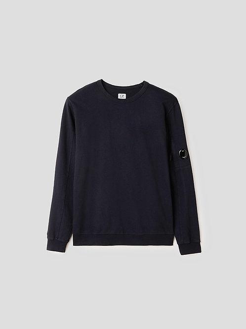 Garment Dyed Lens Sweatshirt in Total Eclipse