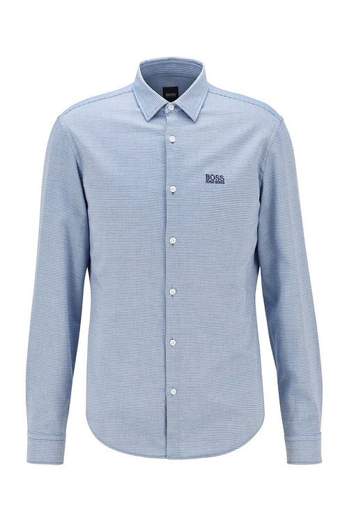 Brod_S Shirt in Blue