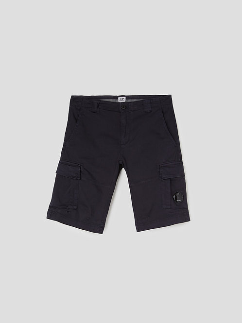 Lens Cargo Shorts in Total Eclipse