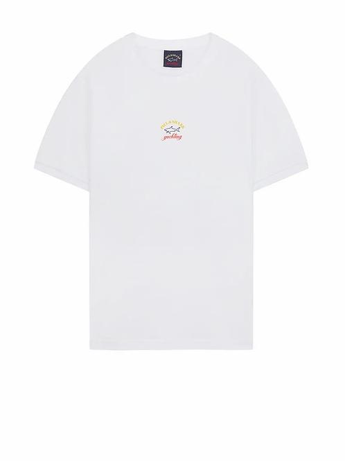Centre Logo T-ShirtIn White
