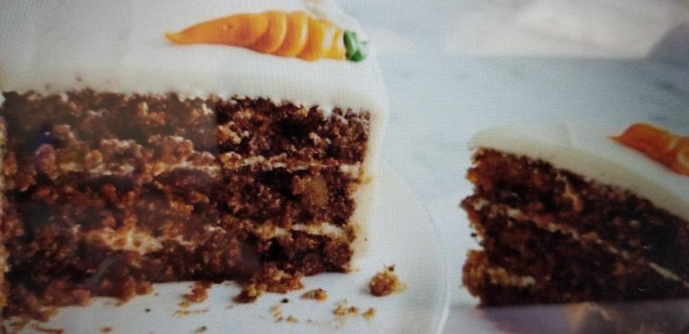 Dessert Platters - Carrot Cake - Serves 50