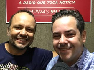 Entrevista para a CBN Campinas