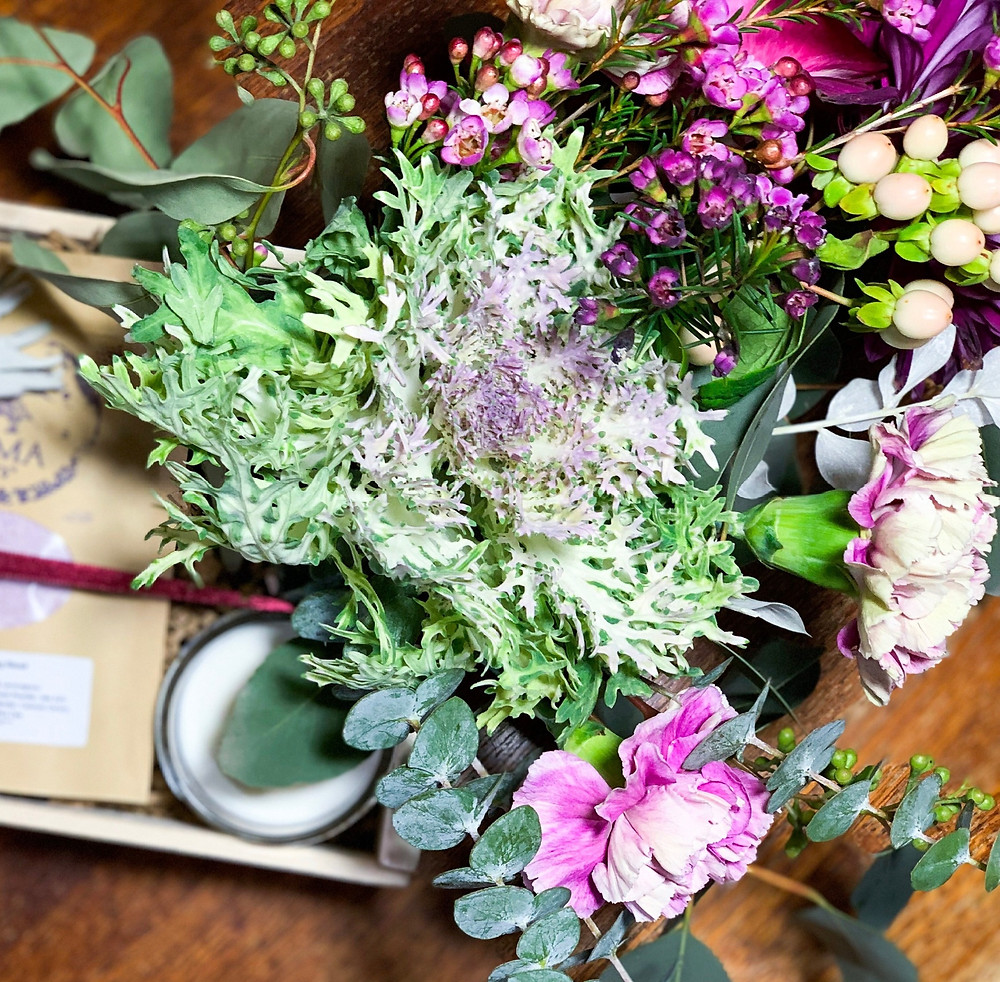 Sunstone Wedding Box with Florals