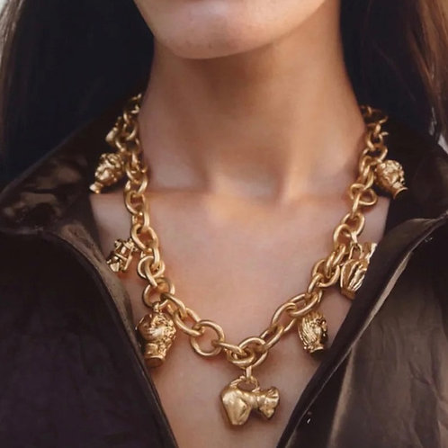 Grecian Necklace / Gold
