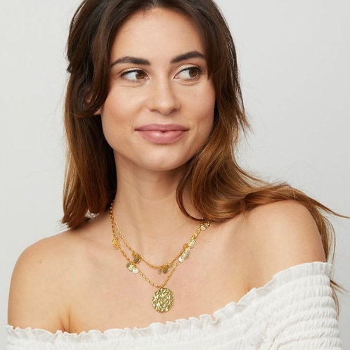 Spice Court Necklace / Gold