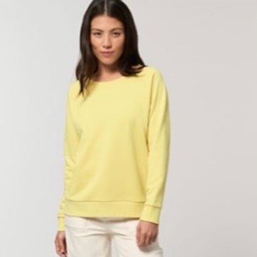 Womens Relaxed Fit Sweatshirt / Various Colours
