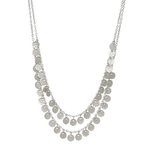 Beau Necklace / Silver