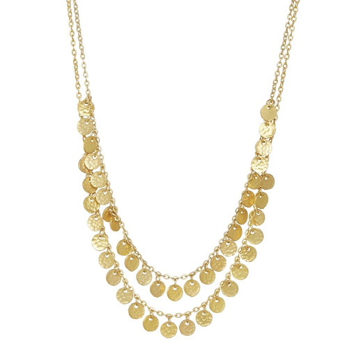 Beau Necklace, Gold