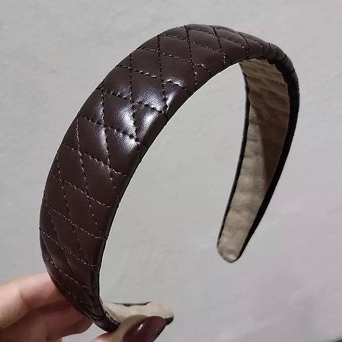 Marcelle Headband / Coffee