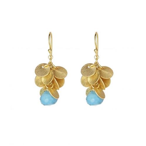 Winona Earrings, Turquoise