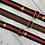 Thumbnail: Bee Bag Strap, Red & Navy