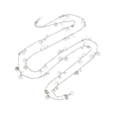Alena Necklace, Silver