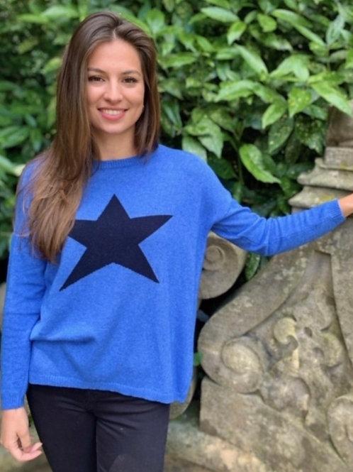 Classic Star Jumper Blue/Navy