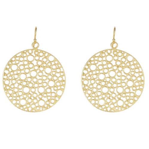 Bubble Earrings - Gold Plated