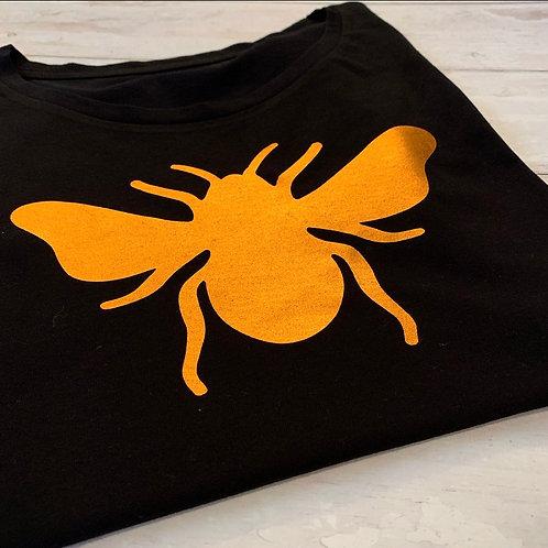 Bee Slim Fit Tee / Black Copper