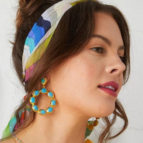 Wanda Earrings / Turquoise