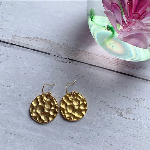 Lucy Hammered Earrings