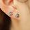 Thumbnail: Rainbow Stud Earrings