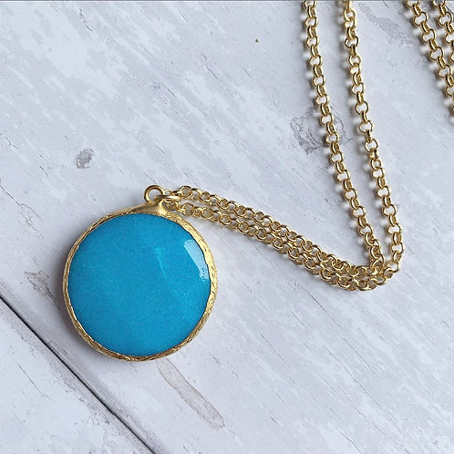 Lucinda Necklace, Turquoise