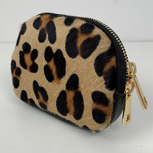 Coin Purse / Leopard Print