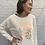 Thumbnail: Cheetah Sweatshirt / Natural & Copper