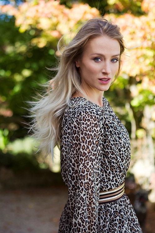 Erica Dress / Leopard