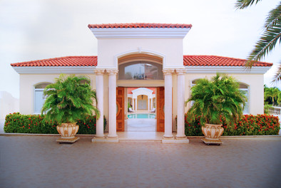 Bella Vista 10, Tierra del Sol - Pool side entrance