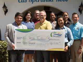 Divi Impact Foundation cu donacion di 15 mil florin pa Cas Speransa Nobo