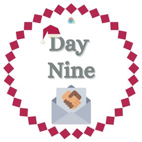 12 Days of Kindness Day Nine