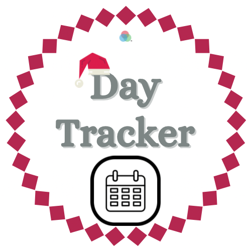 12 Days of Kindness Day Tracker