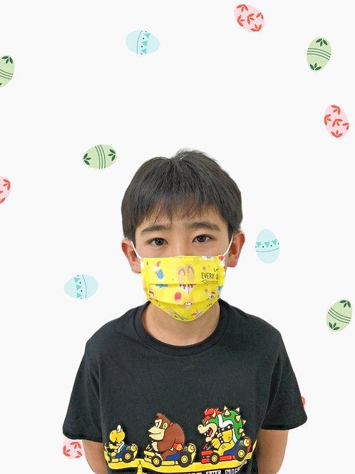 子ども用プリーツマスク