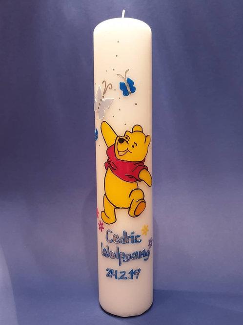 Taufkerze Winnie the Pooh
