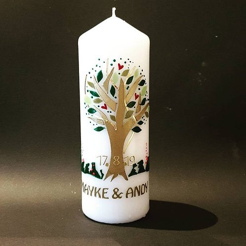 Hochzeitskerze Baum